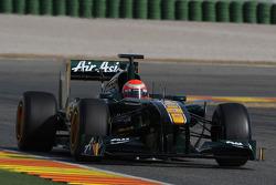 Jarno Trulli, Team Lotus, TL11- Formula 1 Testing