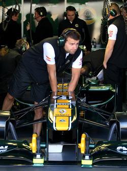 Team Lotus atmosphere
