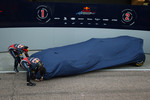 Sebastian Vettel, Red Bull Racing and Mark Webber, Red Bull Racing unveil the new RB7