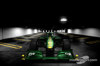 Computer image of the new Team Lotus T128