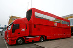 Scuderia Ferrari trucks