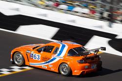 #63 Team Spencer Motorsports Mazda RX-8: Jim Downing, Richard Grupp, David Murry, Dennis Spencer, Owen Trinkler