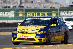 #98 89 Racing Team Honda Civic SI: Jocelyn Hebert, Rejean Vincent