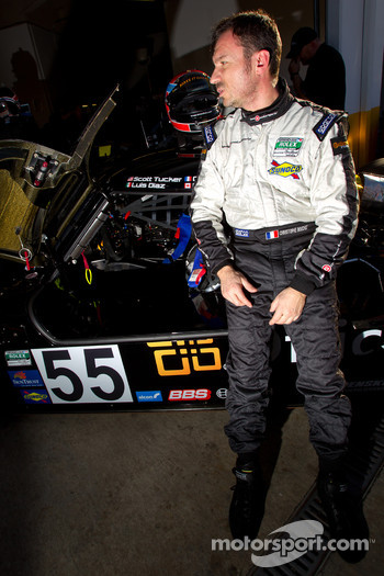 Driver change practice at Level 5 Motorsports: Christophe Bouchut