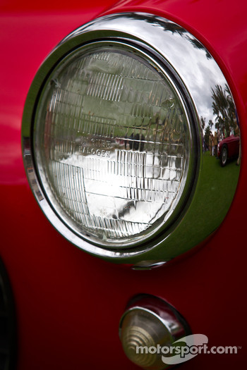 Ferrari 250 GT SWB headlight detail