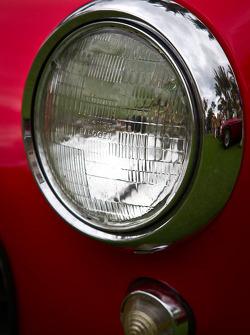 Ferrari 250 GT SWB headlight detail