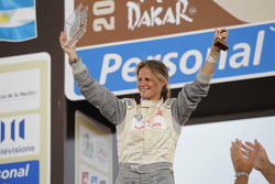 Podium: car category 16th place Isabelle Patissier