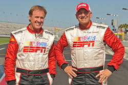 Rusty Wallace and Dale Jarrett