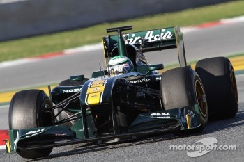 Kovalainen is quite happy with Team Lotus