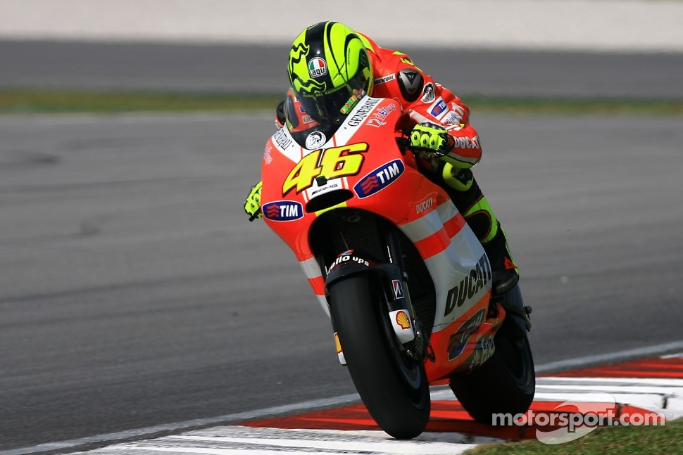 Valentino Rossi of Ducati Marlboro Team