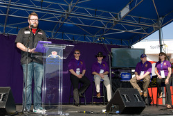 Crown Royal event in the Fanzone