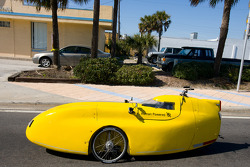 The new car of tomorrow in the streets of Daytona Beach