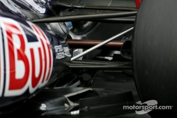 Scuderia Toro Rosso rear suspension detail