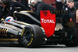 Lotus Renault GP testing tool