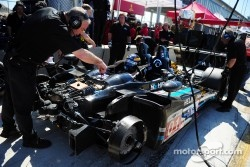 Highcroft team working car