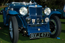 #322 1935 MG NB Magnette: Tom & Kathleen Metcalf