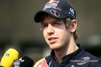 Current world champion Sebastian Vettel