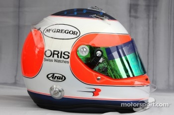 Helmet of Rubens Barrichello, Williams F1 Team