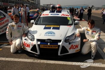 Tom Chilton and Andy Neate, Team Aon