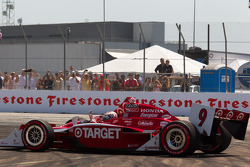 Scott Dixon, Target Chip Ganassi Racing after the start crash