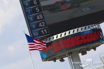 Martinsville Speedway giant screen