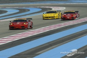 #61 AF Corse Ferrari F430: Piergiuseppe Perazzini, Marco Cioci, St_phane Lemeret
