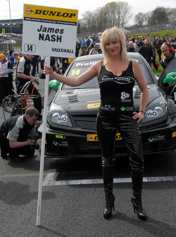 James Nash's Grid Girl