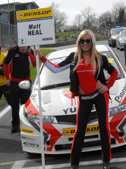 Matt Neal's Grid Girl