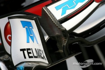 Sauber F1 Team, Technical detail, front wing