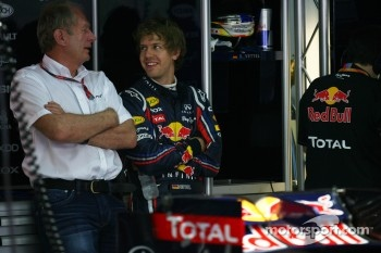 Sebastian Vettel, Red Bull Racing and Helmut Marko, Red Bull Racing, Red Bull Advisor