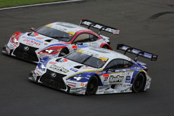 #37 Team Tom's Lexus RC F: James Rossiter, Ryo Hirakawa and #39 Lexus Team Sard Lexus RC F: Kohei Hirate, Heikki Kovalainen