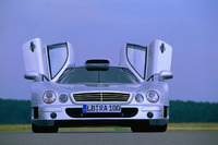 Automotive Foto's - Mercedes CLK GTR