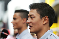 Rio Haryanto, Manor Racing with team mate Pascal Wehrlein, Manor Racing