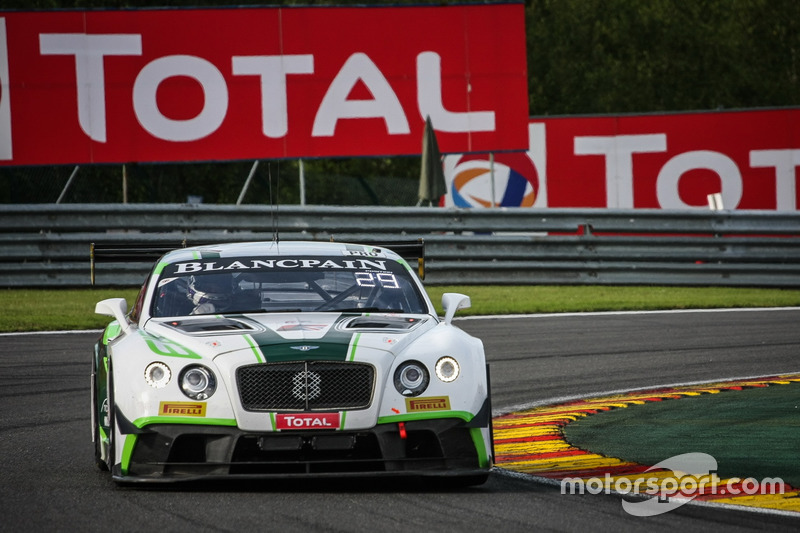 10. #8 Bentley Team M-Sport, Bentley Continental GT3: Andy Soucek, Wolfgang Reip, Maxime Soulet