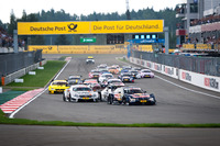 DTM Fotos - Start of the race, Marco Wittmann, BMW Team RMG, BMW M4 DTM leads
