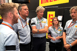 Pirelli staff in Spa-Francorchamps