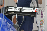Formula 1 Foto - Sauber C35, l'ala posteriore