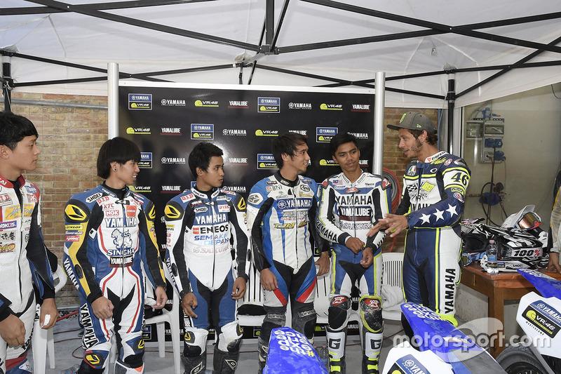 Master-Camp mit Valentino Rossi