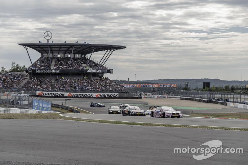 ... und Führung in der Mercedes-Arena