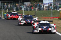 ELMS Fotos - #2 United Autosports Ligier JSP3 - Nissan: Alex Brundle, Mike Guasch, Christian England