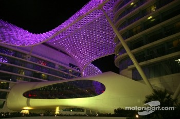 The stunning Yas Marina