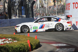 #55 BMW Motorsport BMW M3 GT: Bill Auberlen, Dirk Werner after a spin
