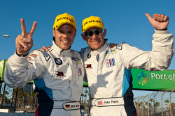 GT class winners Dirk Müller and Joey Hand