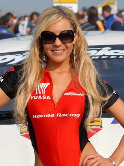 Honda Racing Grid Girl