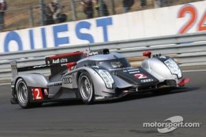 #2 Audi Sport Team Joest Audi R18 TDI: Marcel Fässler, Andre Lotterer, Benoit Treluyer