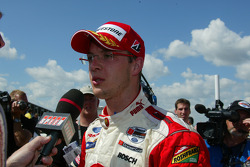 Interview for race winner Sébastien Bourdais