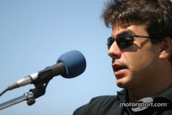 Molson Indy 2005 media event: Oriol Servia