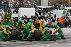 Will Power pit stop