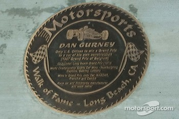 Walk of Fame - Long Beach, plaque for Dan Gurney