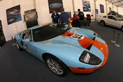 Ford display area: a Ford GT